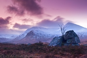 Dusk on Black Mount, Rannoch Moor, Scotland