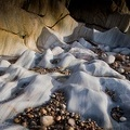 Limestone ripples and shapes, Sandend, Banffshire, Scotland