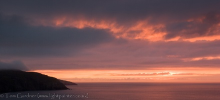 Lewis sunset, Traigh na Clibhe