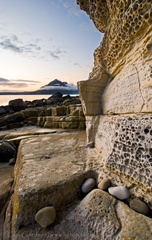 Eroded sandstone, Elgol