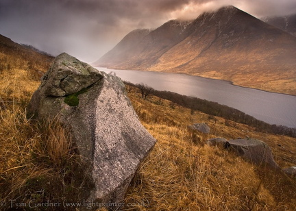 Approaching Squall, Glen Etive
