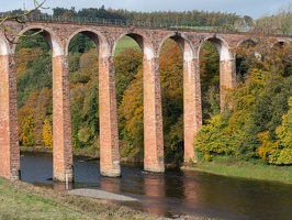 Leaderfoot Viaduct over the river Tweed